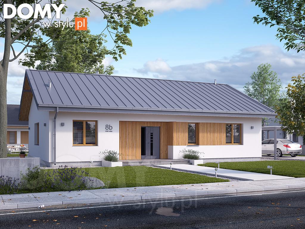 projekty domów małych, niewielkich